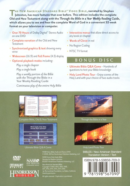 NASB Video Bible