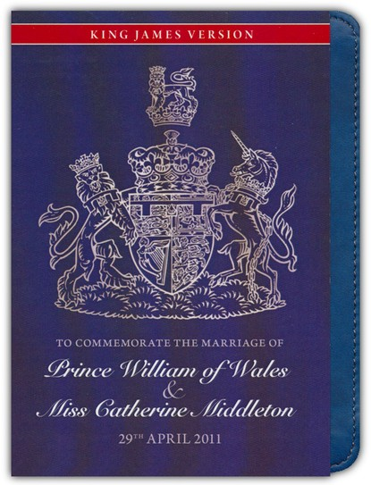 KJV Royal Wedding Edition -Reference Bible