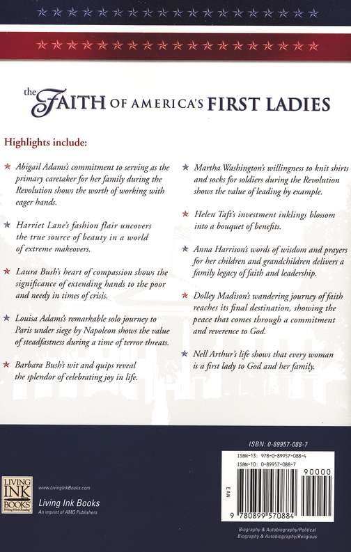 The Faith of America's First Ladies