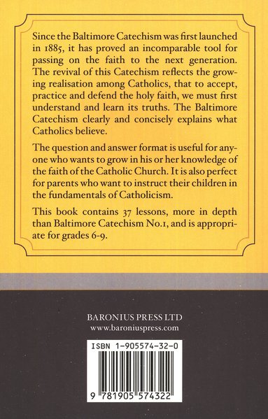 Baltimore Catechism No. 2