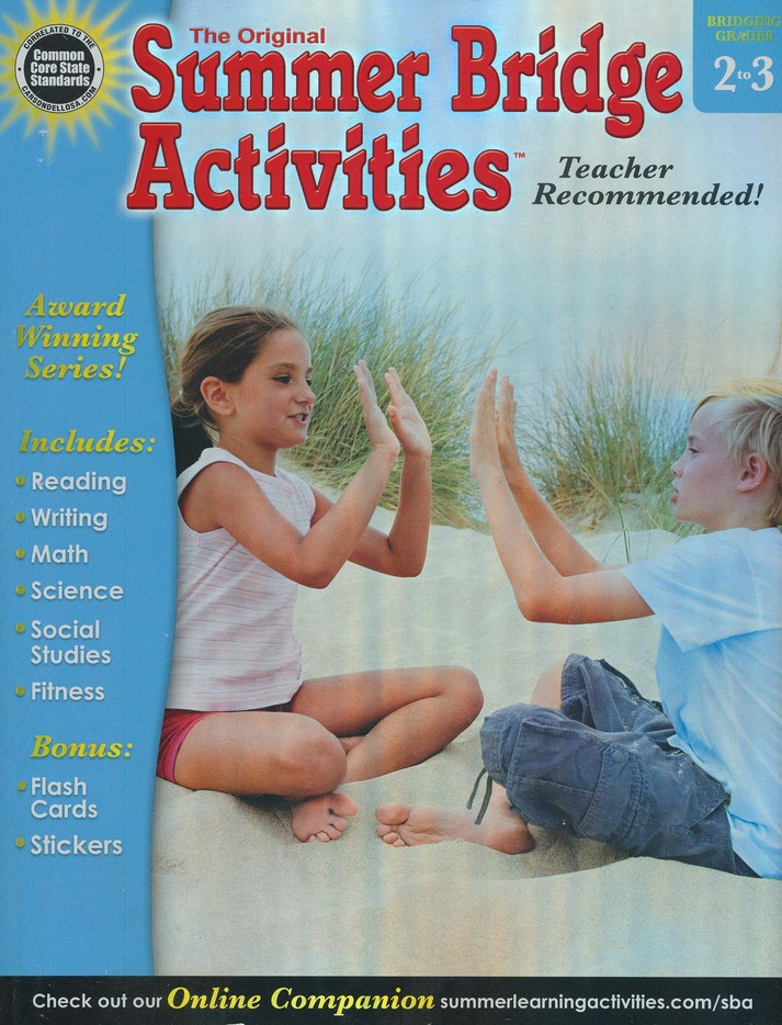 Summer Bridge Activities &#153 Grade 2 to 3
