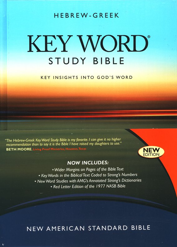 Key Word Study Bible NASB (2008 new edition), Hardcover