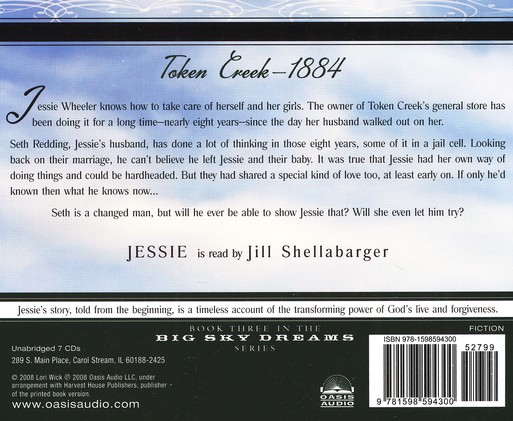 Jessie, Big Sky Dreams #3-audiobook on CD