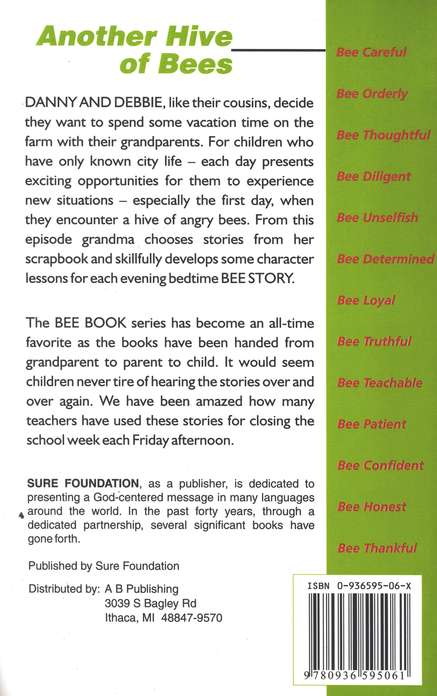Another Hive of Bees: Stories That Help Build Character for Children 5-10