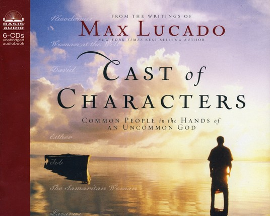Cast of Characters Unabridged Audiobook on CD