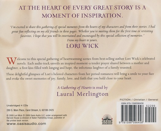 The Best of Lori Wick: Unabridged Audiobook on CD