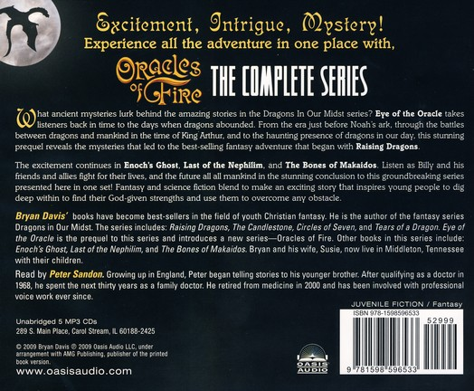 Oracles of Fire: Unabridged Audiobook on MP3 CD