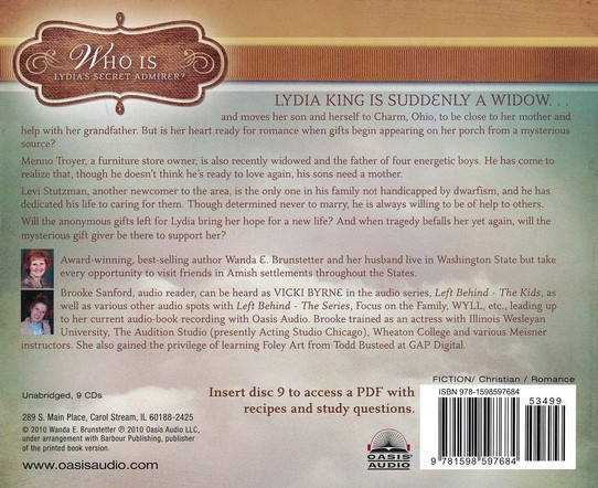 Lydia's Charm Unabridged Audiobook on CD
