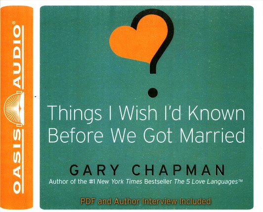 Things I Wish I'd Known Before We Got Married Unabridged Audiobook on CD