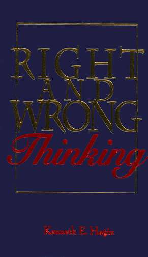 Right and Wrong Thinking