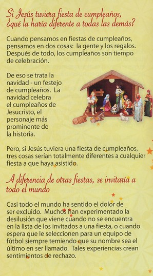What if Jesus Had a Party? - Spanish  Pack of 25