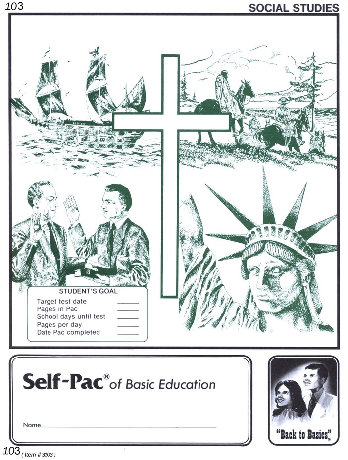 World History Self-Pac 103, Grade 10