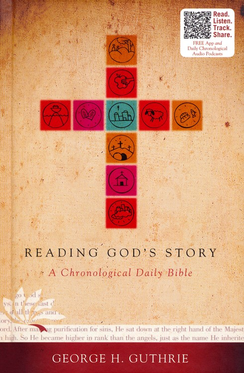 HCSB Reading God's Story: A Chronological Daily Bible, Hardcover