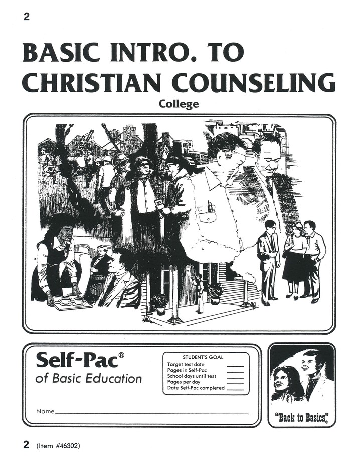 Introduction To Christian Counsel Self-Pac 2