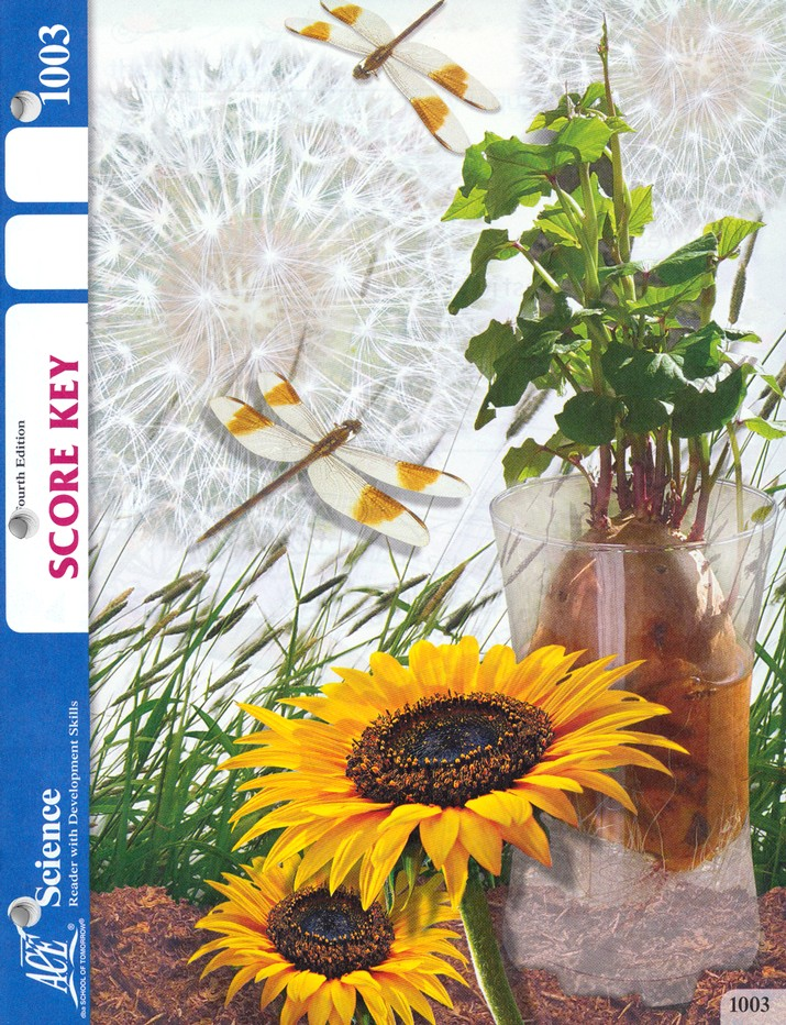 Science PACE SCORE Key 1003, Grade 1, 4th Edition