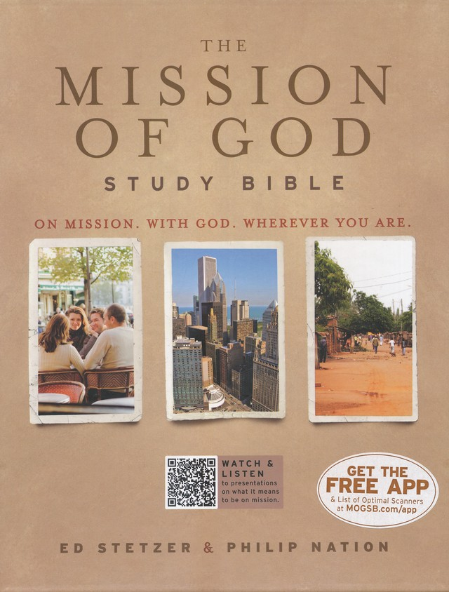 HCSB The Mission of God Study Bible, Brown Simulated Leather
