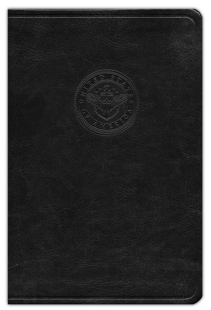 HCSB Sailor's Bible, Black Simulated Leather