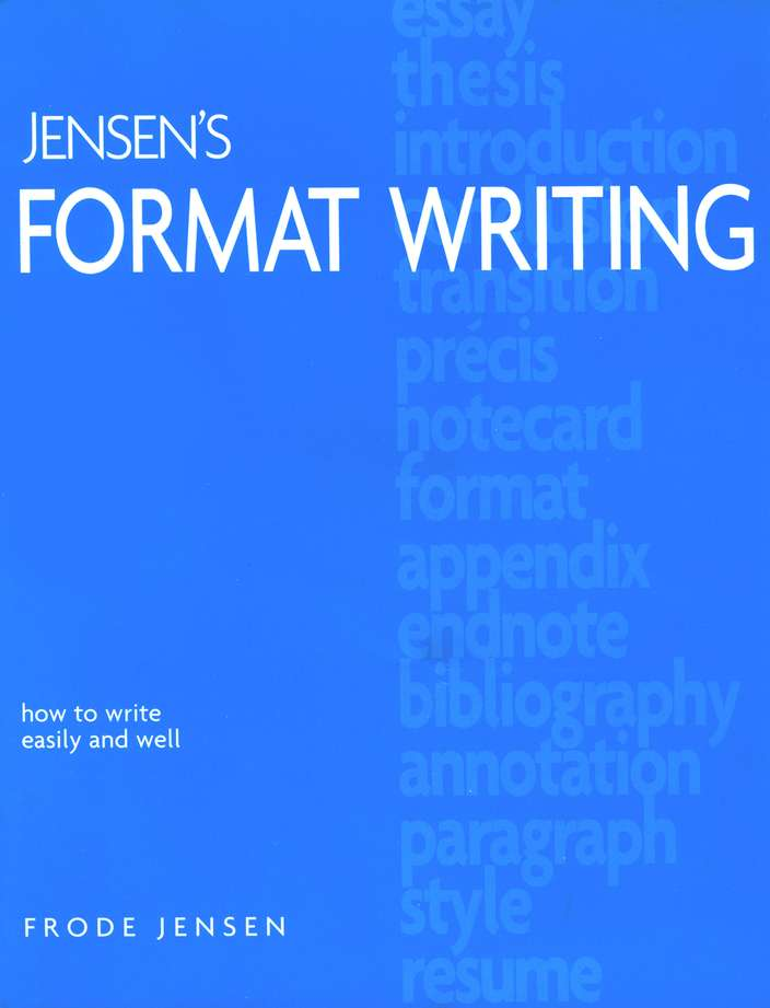 Jensen's Format Writing, Revised