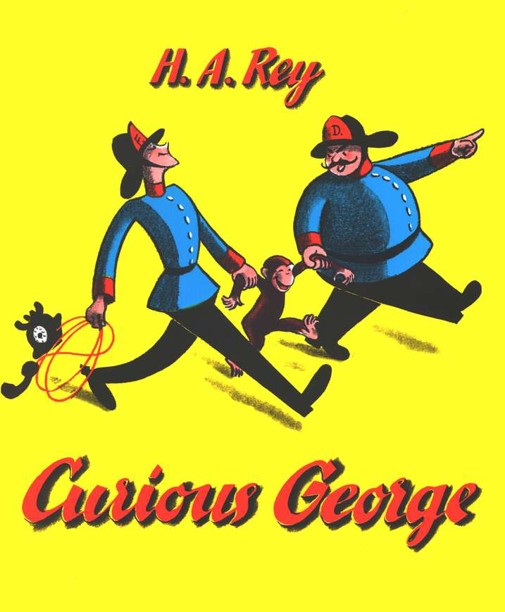 Curious George--Book and CD