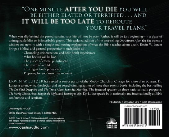 One Minute After You Die              - Audiobook on CD