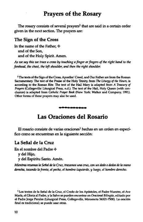 Praying the Rosary with Scripture in Four Languages: English, Spanish, Vietnamese, and Tagalog