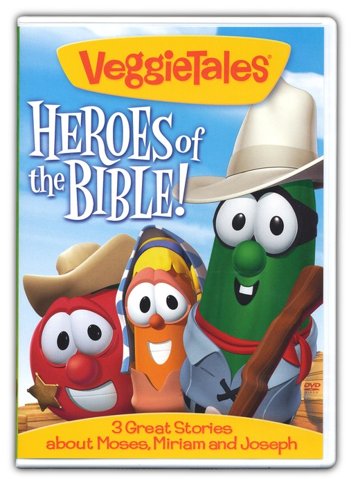 Heroes of the Bible: Moses, Miriam, and Joseph VeggieTales DVD