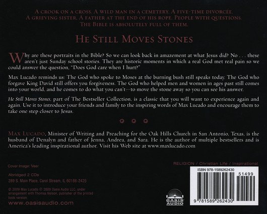 He Still Moves Stones        - Audiobook on CD
