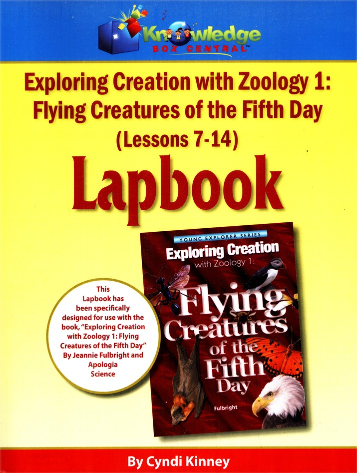 Apologia Exploring Creation with Zoology 1: Flying Creatures of the 5th Day Lessons 7-14 Lapbook