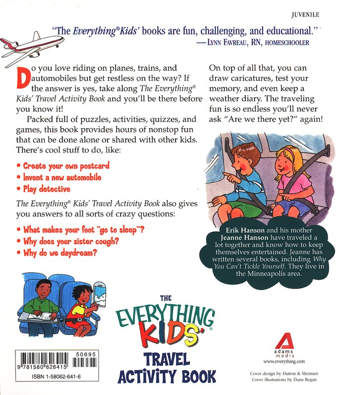 The Everything Kids' Travel Activity Book