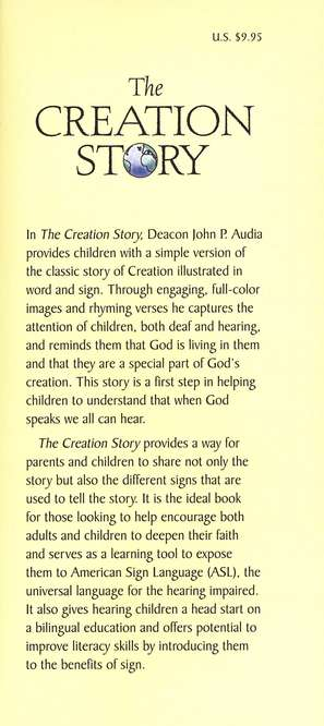 The Creation Story: In Words and Sign Language