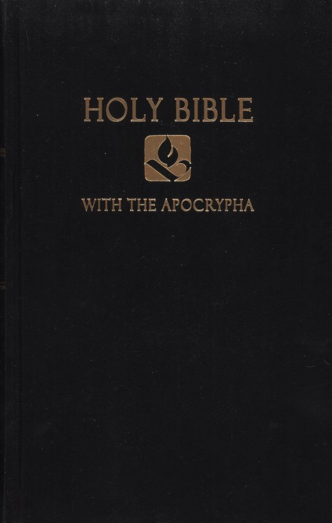 NRSV Pew Bible with Apocrypha, Hardcover, Black