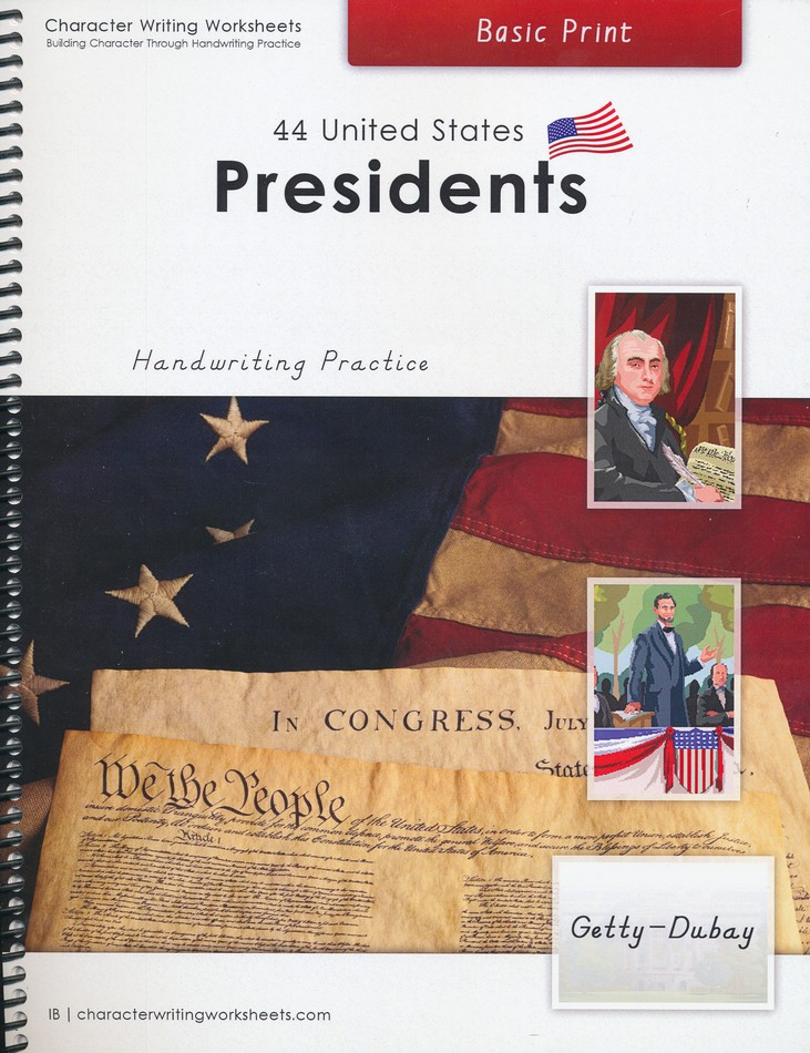 44 United States Presidents: Basic Print, Getty-Dubay Edition