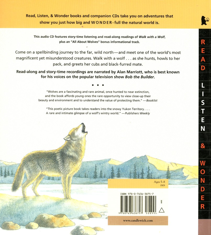 Walk with a Wolf With Audio CD