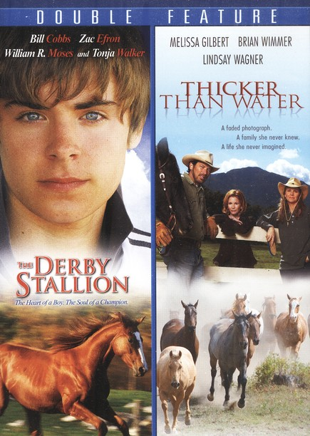 The Derby Stallion/Thicker Than Water, Double Feature DVD