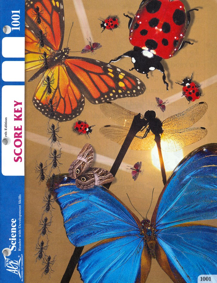 Science SCORE KEY 1001, Grade 1, 4th Edition