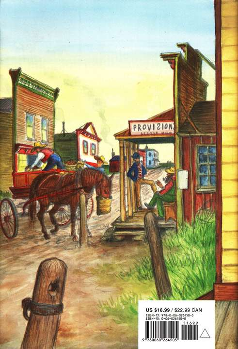 Little Town on the Prairie, Little House on the Prairie Series  #7 (Hardcover)