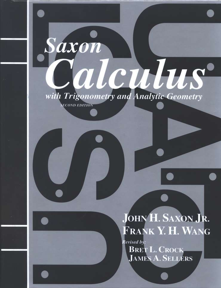 Saxon Calculus Kit & DIVE CD-ROM, 2nd Edition