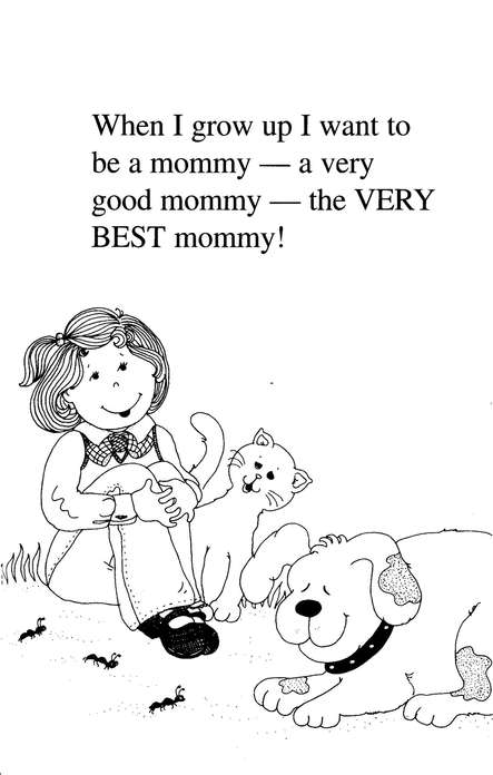 When I'm a Mommy: A Little Girl's Paraphrase of Proverbs 31