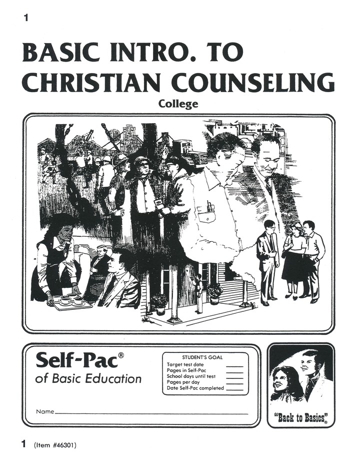 Advanced High School or College Elective: Introduction to Christian Counseling PACEs 1-10