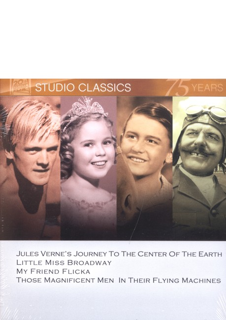 Journey To The Center Of The Earth/Little Miss Broadway/My Friend Flicka/Those Magnificent Men... Multi Feature DVD