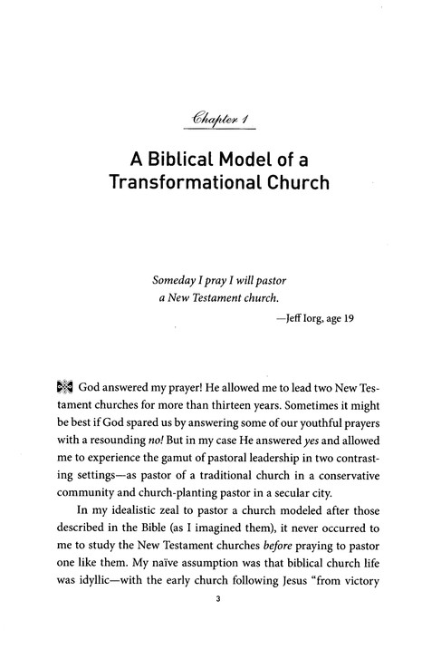 The Case for Antioch: A Biblical Model for a Transformational Church
