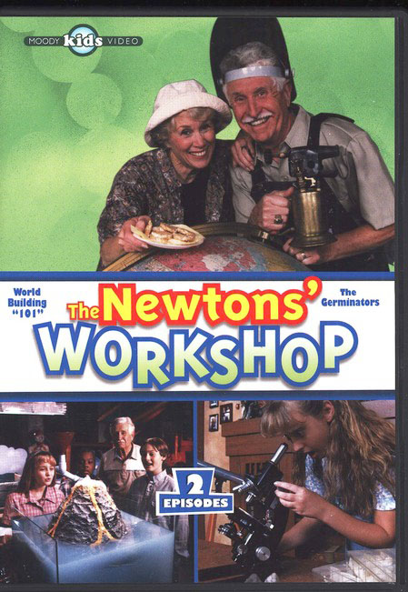 The Newtons' Worshop #2: Word Building 101 & The Germinators, DVD