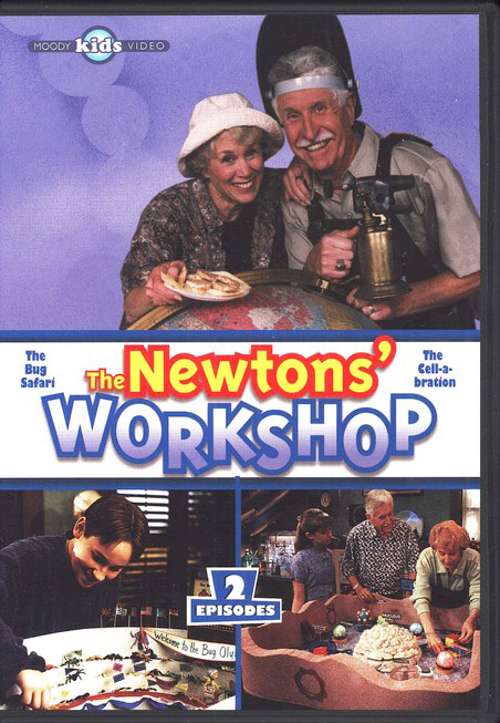 The Newtons' Workshop: The Bug Safari & Cell-a-bration, DVD