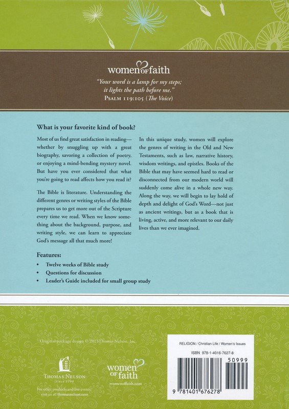 God's Living Word: Relevant, Alive and Active, Women of Faith Study Guide Series