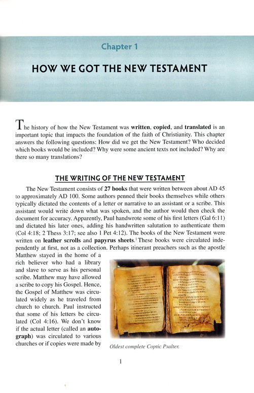 The Essence of the New Testament: A Survey