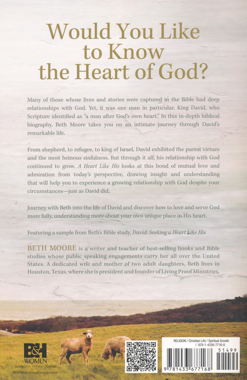 A Heart Like His: Intimate Reflections on the Life of David, Paperback Edition