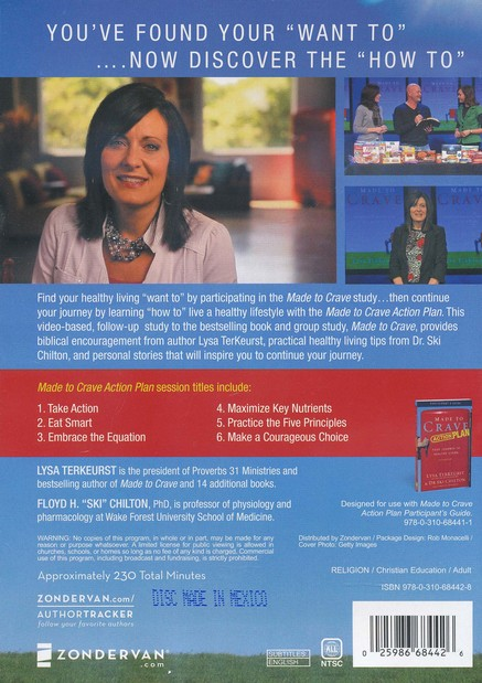 Made to Crave Action Plan Participant's Guide with DVD: Your Journey to Healthy Living