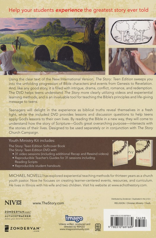 The Story Youth Ministry DVD Kit