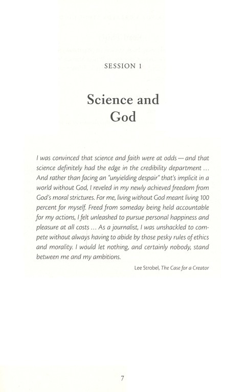 The Case for a Creator Revised Study Guide: Investigating the Scientific Evidence That Points toward God