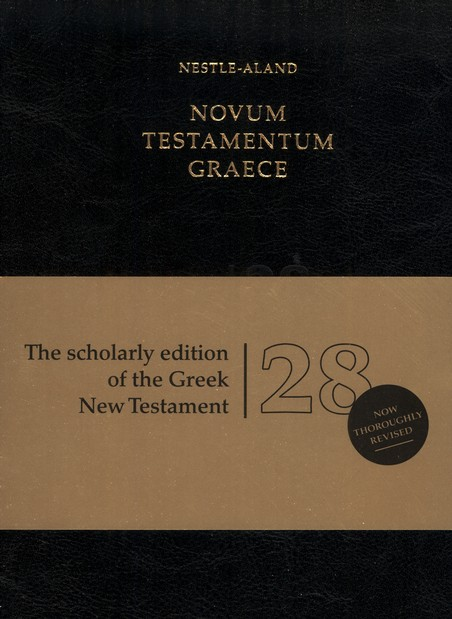 Novum Testamentum Graece, Nestle-Aland 28th Edition (NA28) Imitation Leather-Black